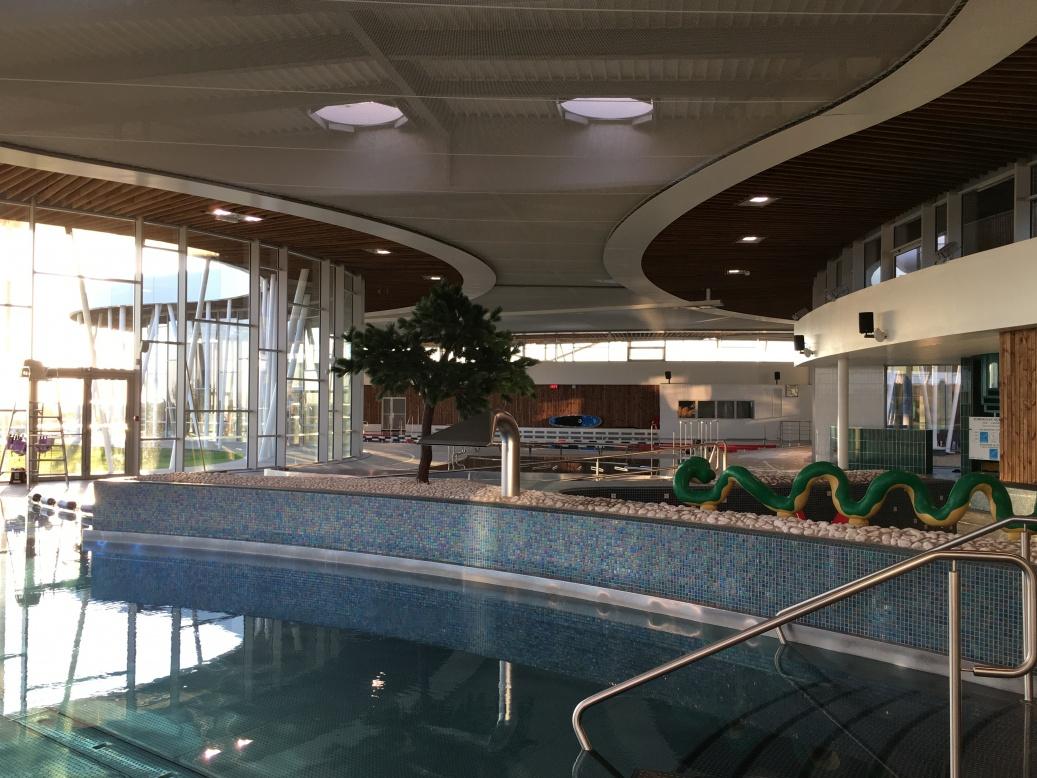 Construction D'un Centre Aquatique À Saint Fulgent intérieur Piscine Saint Fulgent