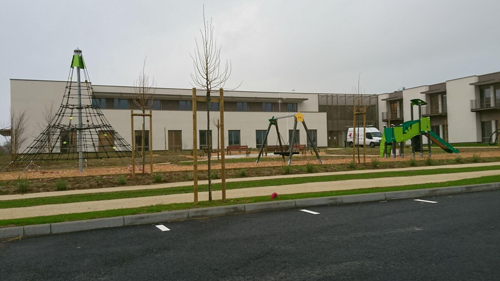 Construction D'un Ehpad - Saint Fulgent - Guicheteau Groupe tout Piscine Saint Fulgent