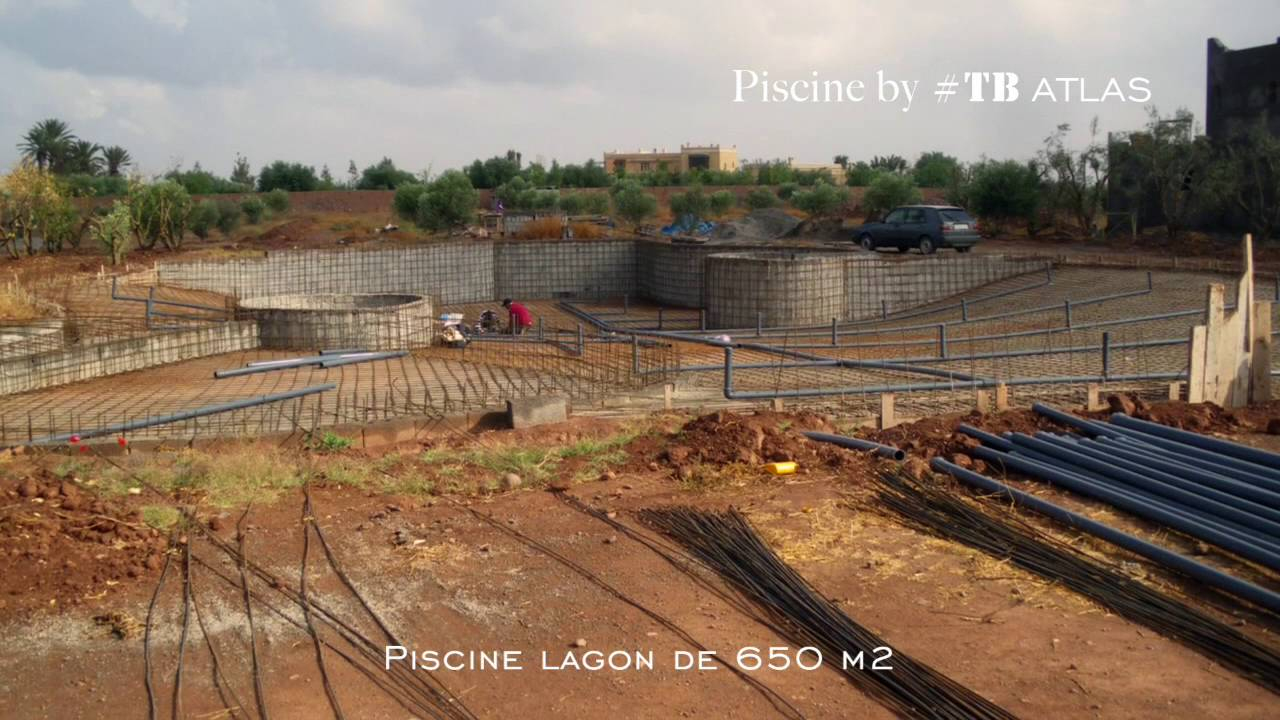 Construction D'une Piscine Lagon Tb Atlas pour Autoconstruction Piscine