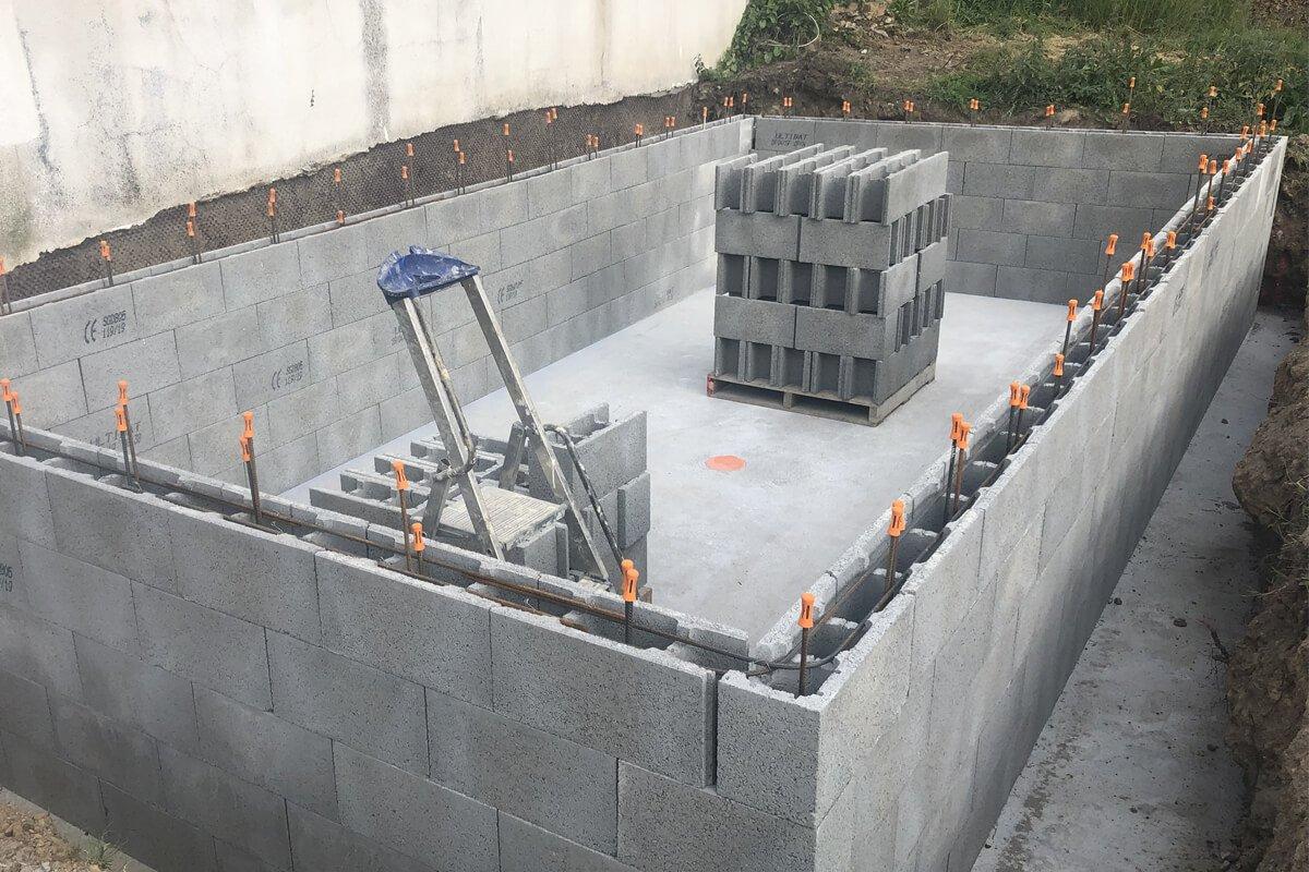Construction Piscine Béton Lanester Par Mgw Piscines destiné Piscine Lanester