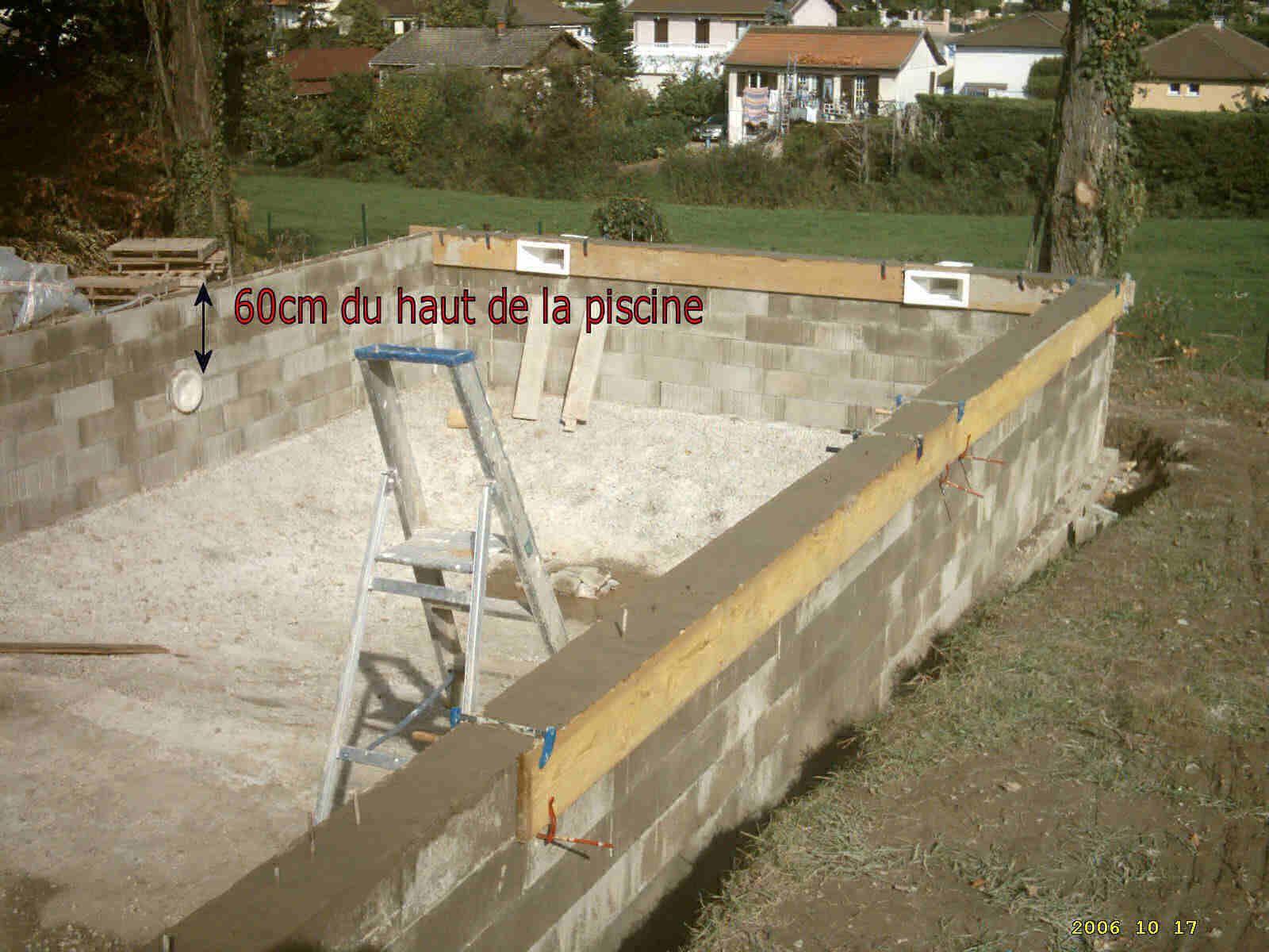 Construire Une Piscine | Piscines Faites Maison, Construire ... concernant Autoconstruction Piscine