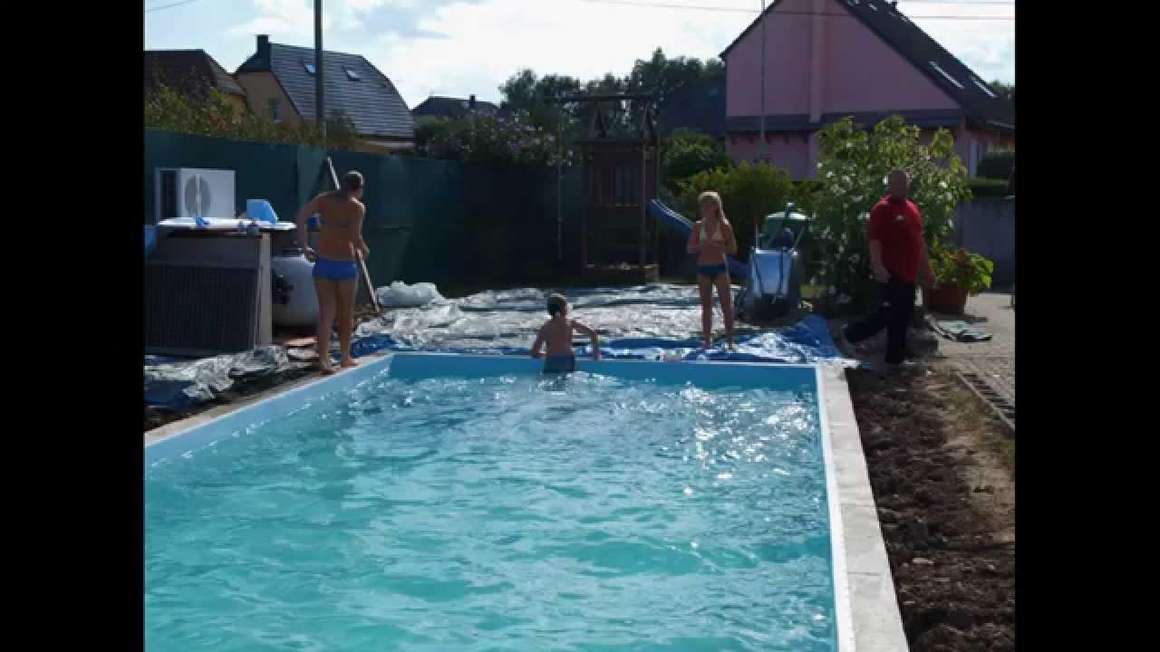 Construire Une Piscine Soi Meme / Pool Selber Bauen / How To Build A Pool tout Piscine À Monter Soi Même