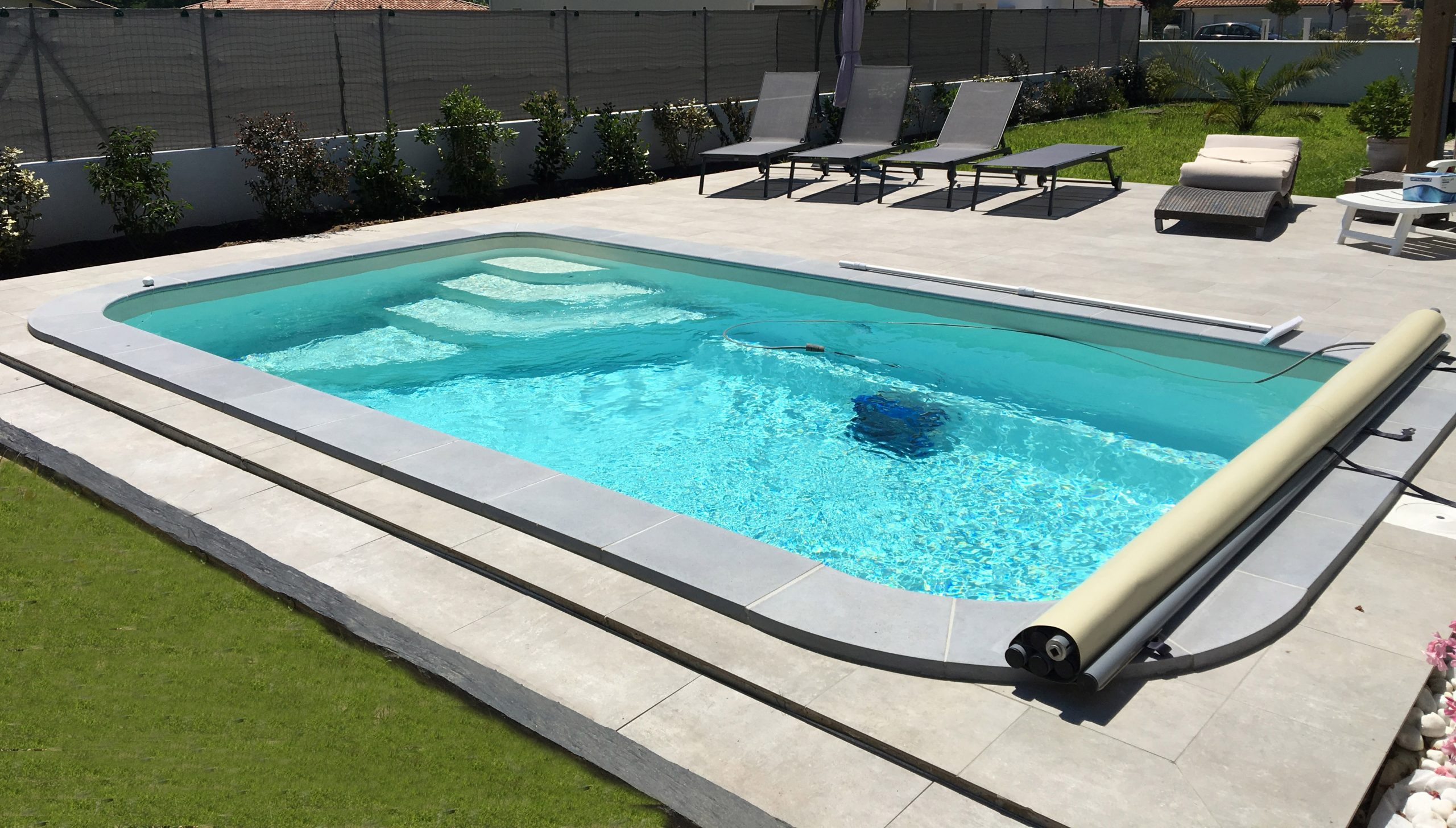 Coque Polyester Aboral - Apfm Piscines Distributeur Exclusif ... pour Aboral Piscine