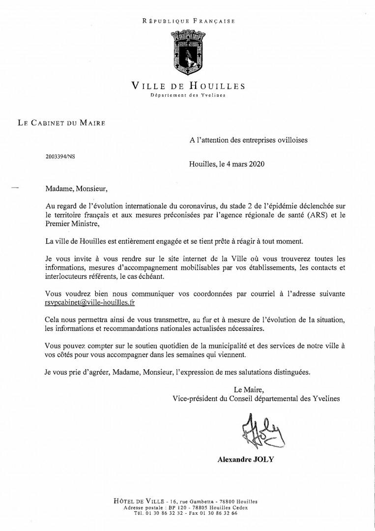 Coronavirus : Communiqué Du Maire À L'attention Des ... serapportantà Piscine De Houilles