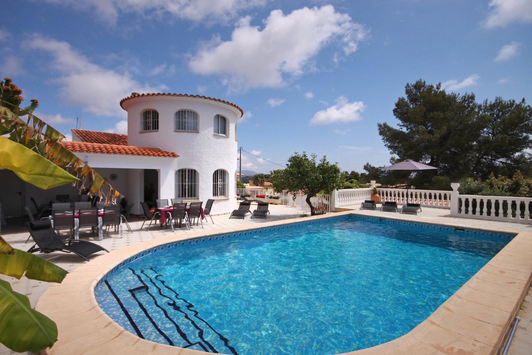 Costa Blanca Location Villa Calpe Avec Piscine Privée serapportantà Location Villa Calpe Avec Piscine