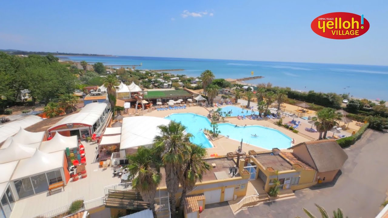 Cottage 4/6 People 2 Bedrooms 1 Bathroom Air-Conditioned destiné Camping Bord De Mer Mediterranee Avec Piscine
