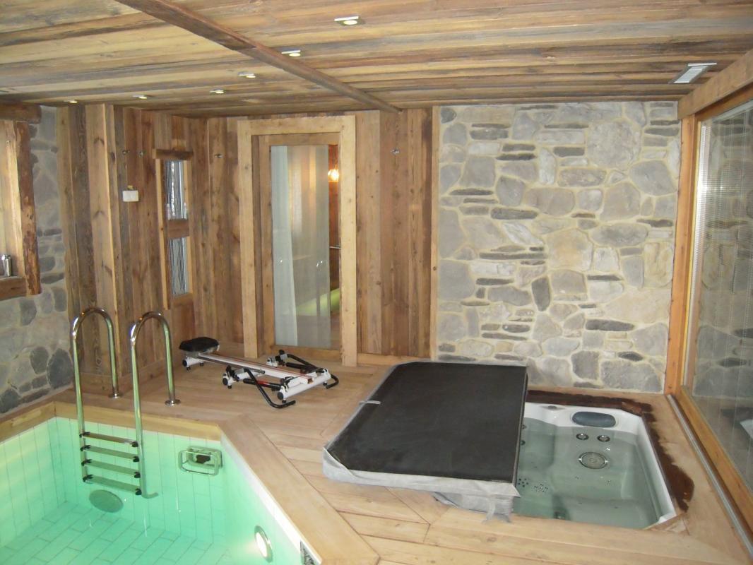 Cottage Chalet Javen À Megeve En Haute-Savoie tout Gite Avec Piscine Interieure Et Jacuzzi