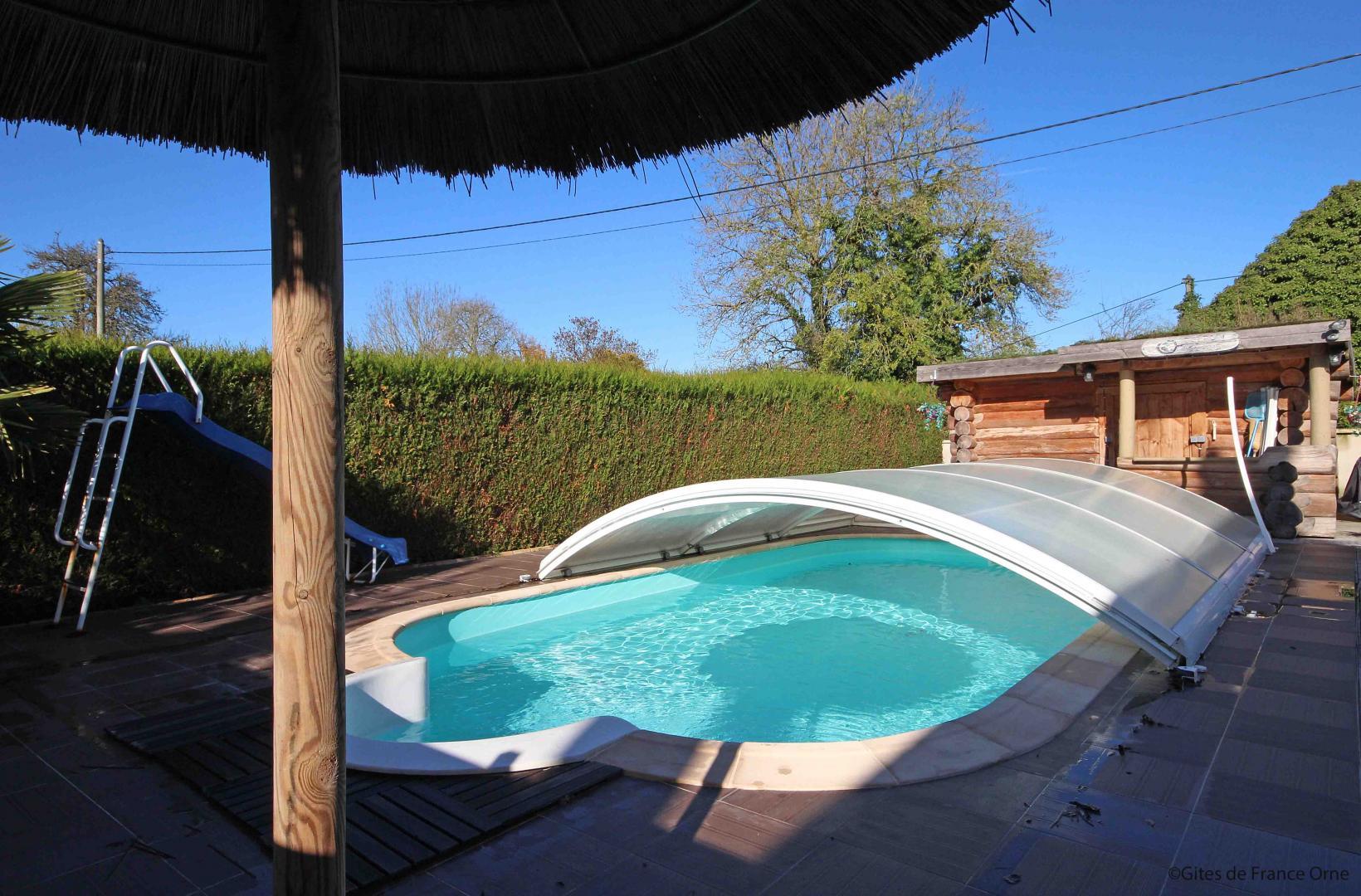 Cottage N°G757 À Chailloue Dans Pays D'alencon(L'orne) 2 Epis destiné Piscine Alencon