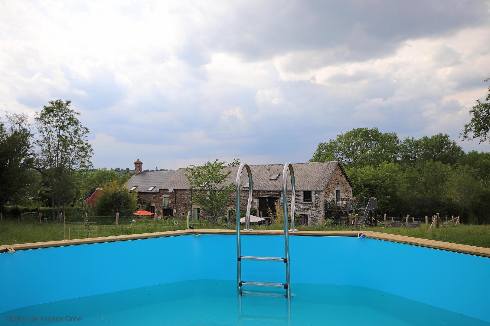 Cottage N°G772 À Rouperroux Dans Pays D'alencon(L'orne) 2 Epis serapportantà Piscine Alencon