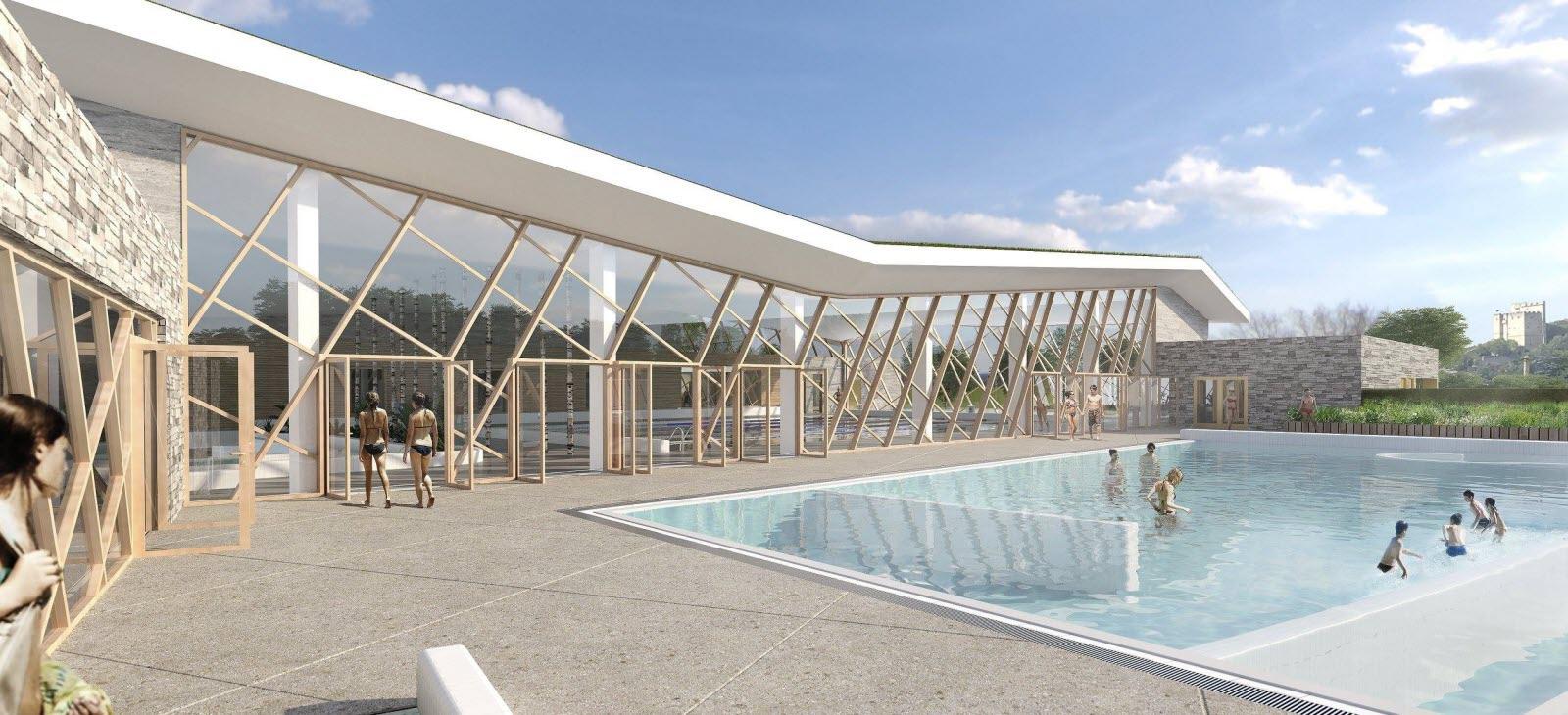 Crest   Le Projet De Centre Aquatique De Crest Vire Au Grand ... pour Piscine Vire