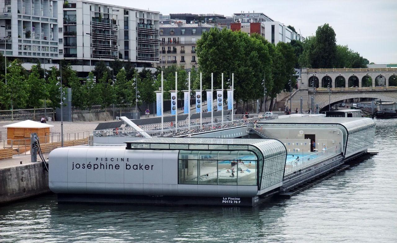 בריכת ג'וזפין בייקר | Cool Swimming Pools, Cool Pools ... destiné Piscine Josephine Baker