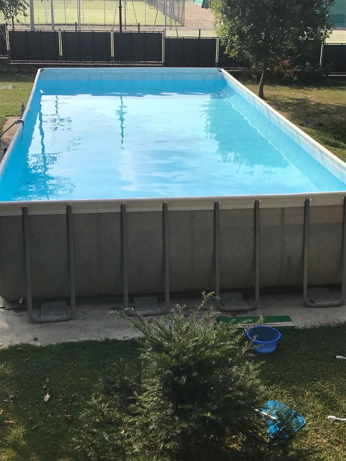 حمامات سباحة متنقلة Swimming Pool - Araims pour Piscine 10X5