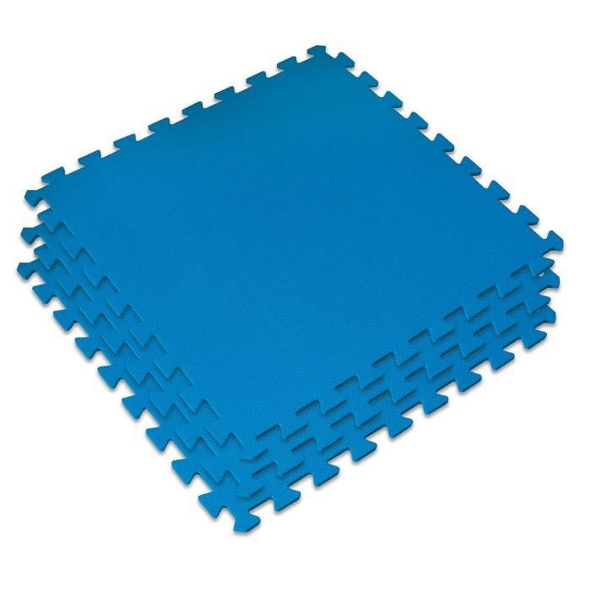 Dalle De Protection Pour Le Sol Kokido 60X60 Cm (Bleu ... encequiconcerne Dalle Mousse Piscine