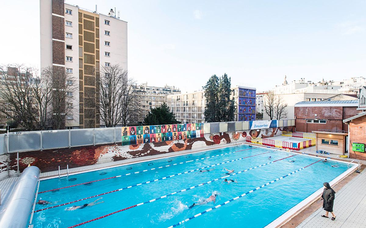 Dans Les Coulisses De La Piscine De La - Ville De Paris serapportantà Piscine La Butte Aux Cailles