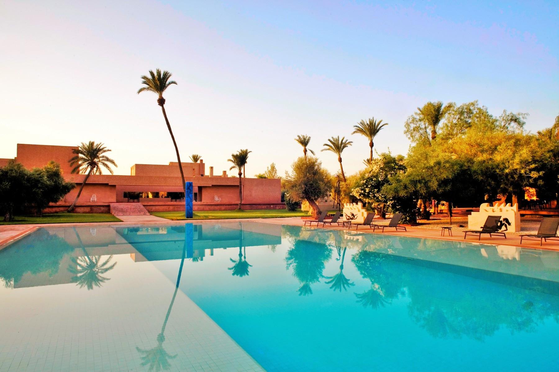 Dar Sabra Hotel Marrakech - Hôtel Luxe Palmeraie Marrakech concernant Hotel Avec Piscine Privée Dans La Chambre France