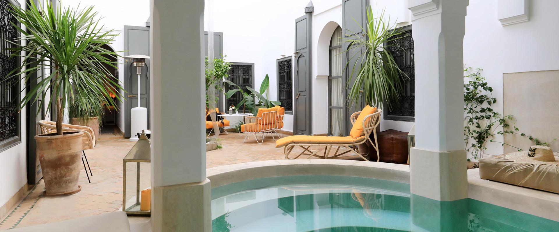 Dar Titrit Marrakech - Site Officiel à Riad Marrakech Avec Piscine