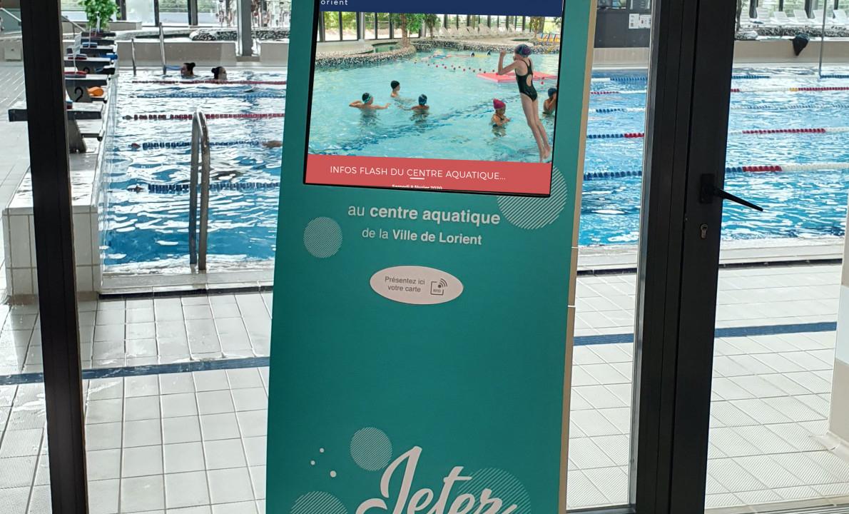 De Nouvelles Bornes Au Centre Aquatique De Lorient encequiconcerne Horaire Piscine Lorient