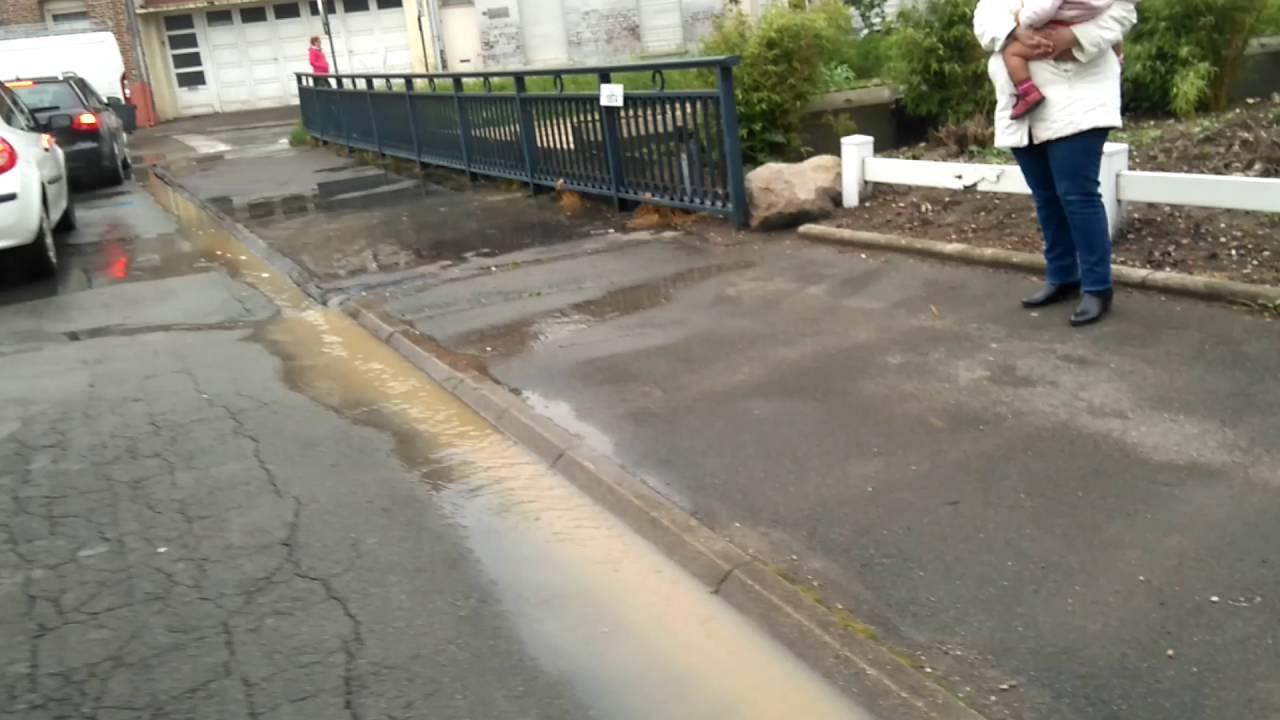 Début D'inondation Béthune Vers Rue Saint Martin,piscine De ... tout Piscine De Bethune