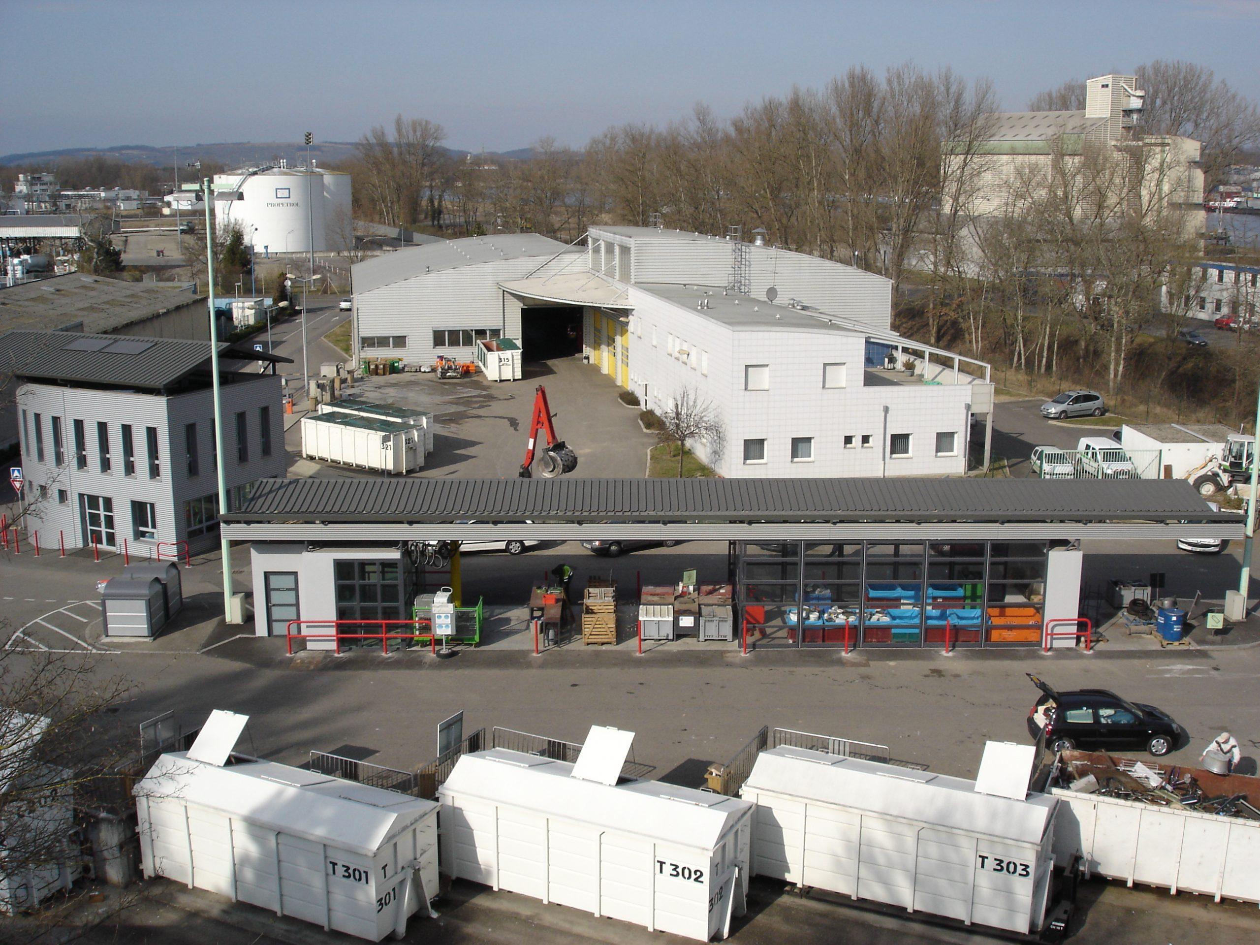 Déchetterie Intercommunale De Village-Neuf - Saint-Louis ... tout Piscine Village Neuf