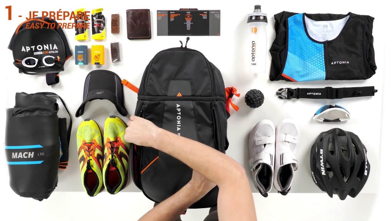 Découvrez Le Sac De Transition Triathlon D'aptonia Decathlon ! tout Velo De Piscine Decathlon