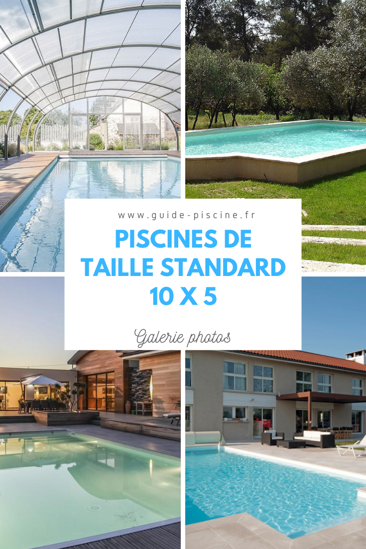 Découvrez Notre Galerie Photos De Piscines 10 X 5 ! #piscine ... intérieur Piscine 10X5