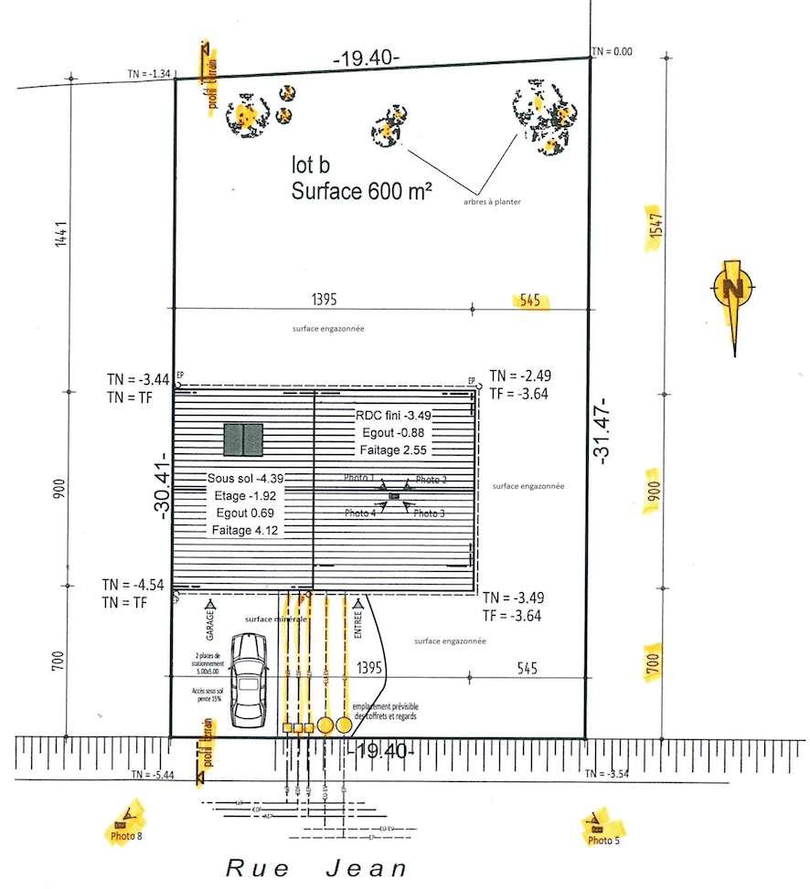 Définition | Plan De Masse | Futura Maison destiné Plan De Coupe Piscine