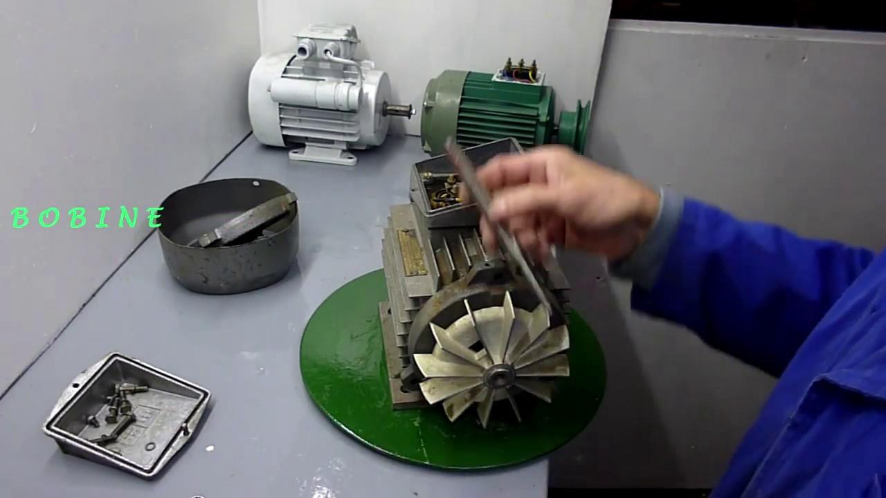 Démontage Remontage Moteur Électrique concernant Demontage Pompe Piscine