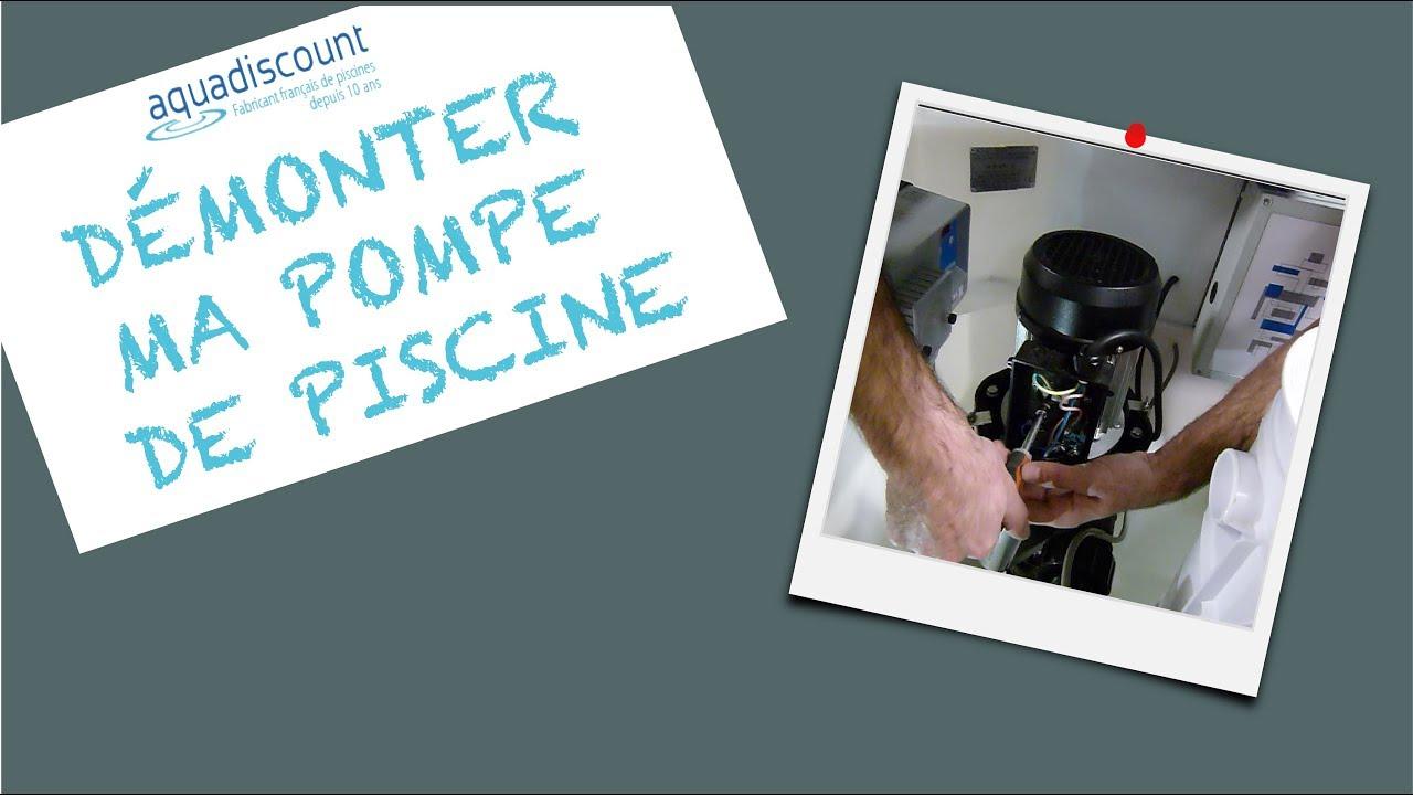 Démonter Ma Pompe De Piscine - Aquadiscount tout Demontage Pompe Piscine