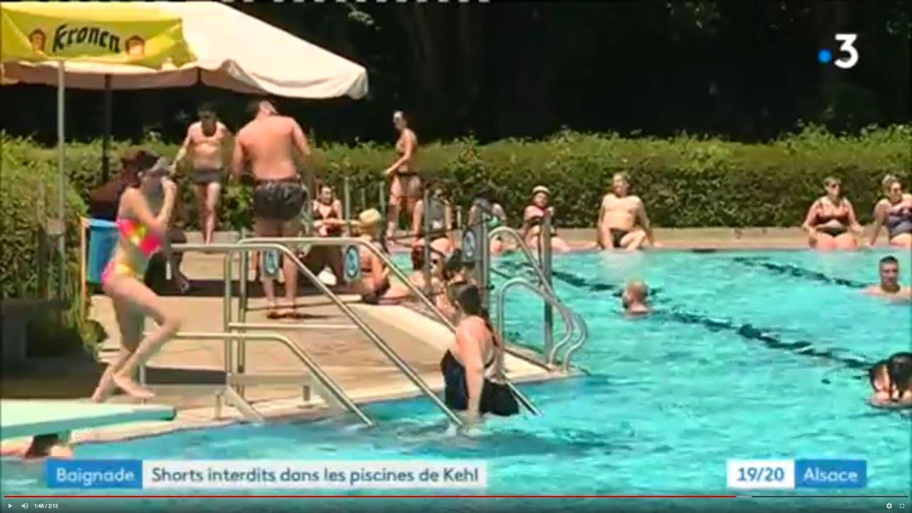 Des Troubles Causés Par De Jeunes Français Dans Les Piscines De Kehl Et  D'auenheim En Allemagne tout Piscine Ensisheim