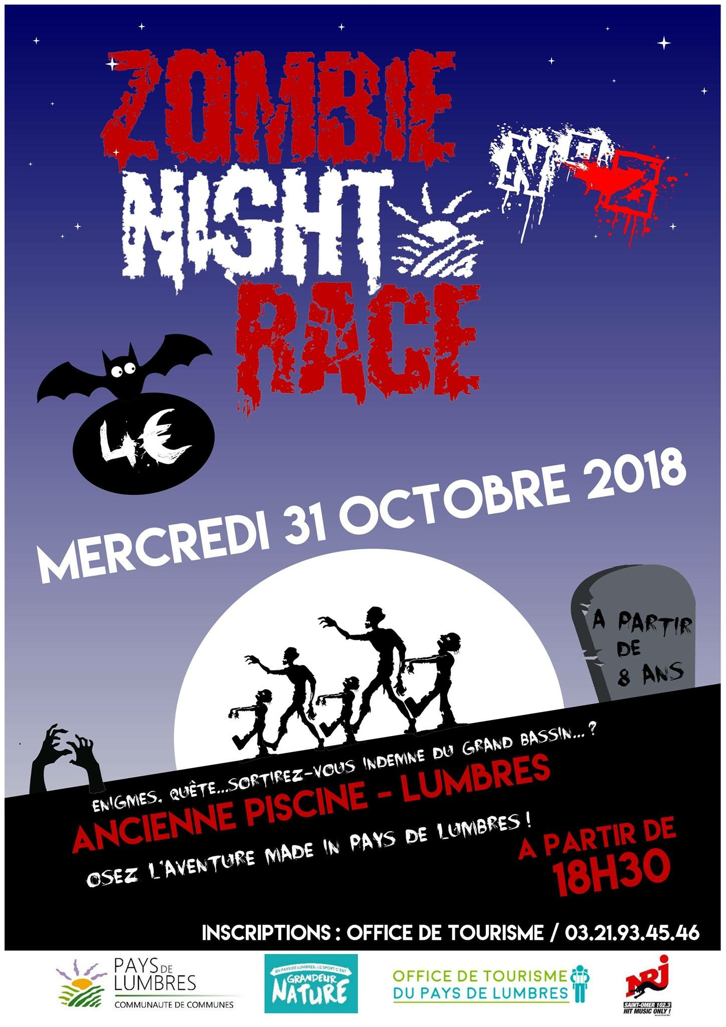 Des Zombies À Lumbres ! – Nrj Nord Littoral avec Piscine De Lumbres