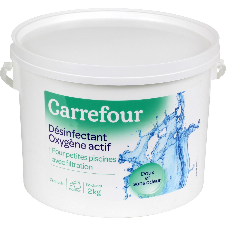 Désinfectant Oxygène Actif Piscines Sans Odeur Carrefour ... concernant Traitement Piscine Oxygène Actif