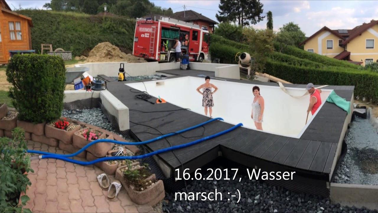 Desjoyaux Pools - Membrane Installation By Dannomac63 tout Piscine Desjoyaux Prix 2017