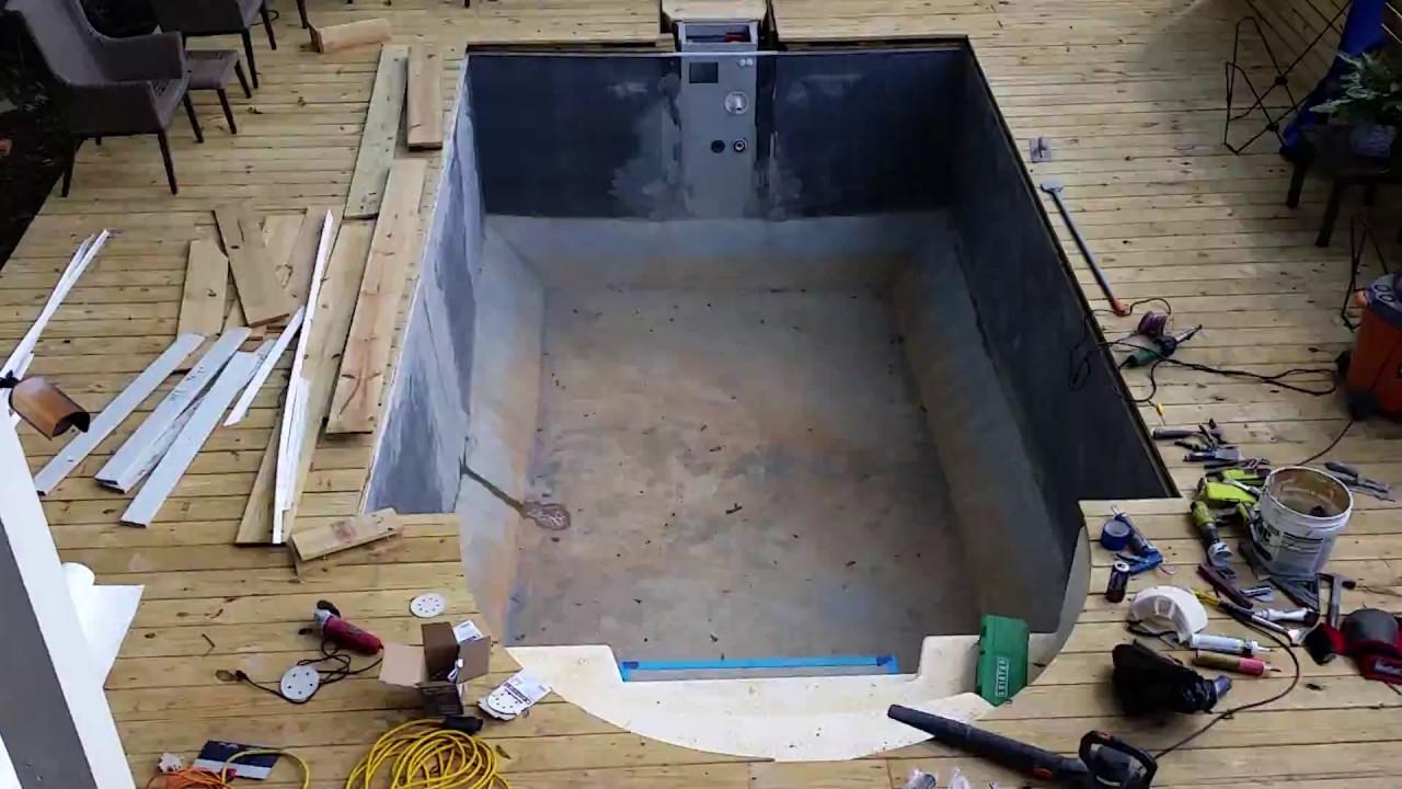 Desjoyaux Pools - Membrane Installation pour Piscine Desjoyaux Prix 2017