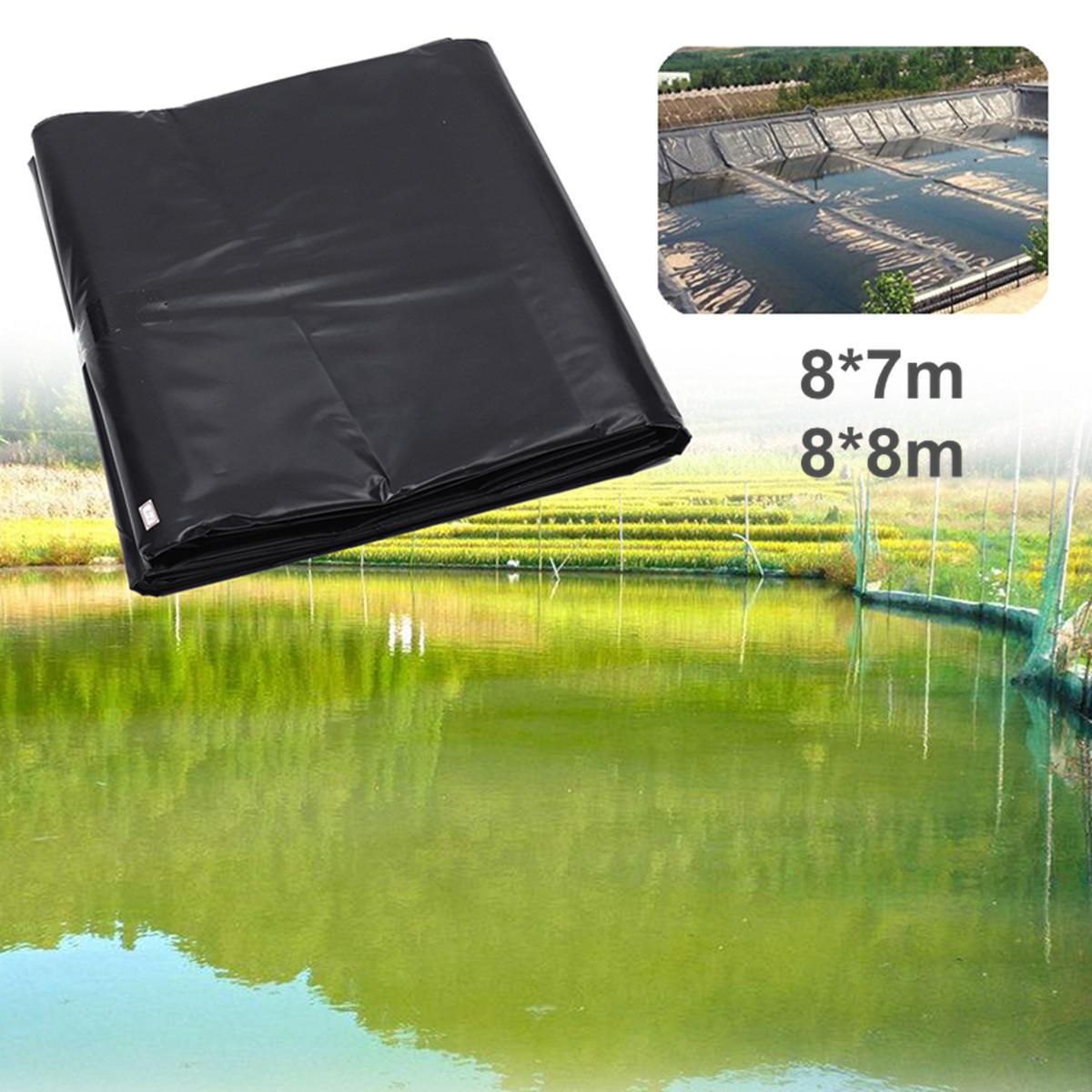 Details About 8M Pond Liners Durable Bâche Pour Bassin Étang De Jardin Film  Aquarium Fish Noir destiné Liner Piscine Prix