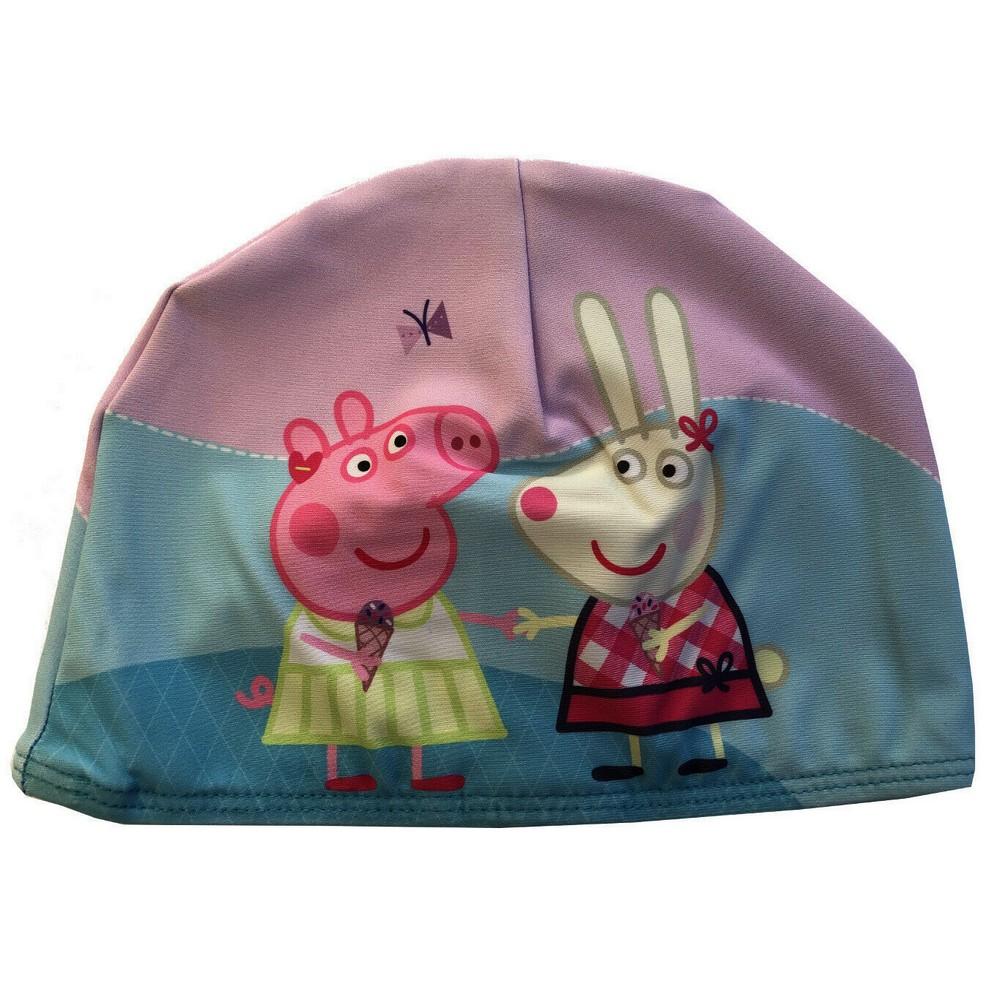 Details About Bonnet De Bain Peppa Pig Enfant Mer Piscine tout Peppa Pig À La Piscine