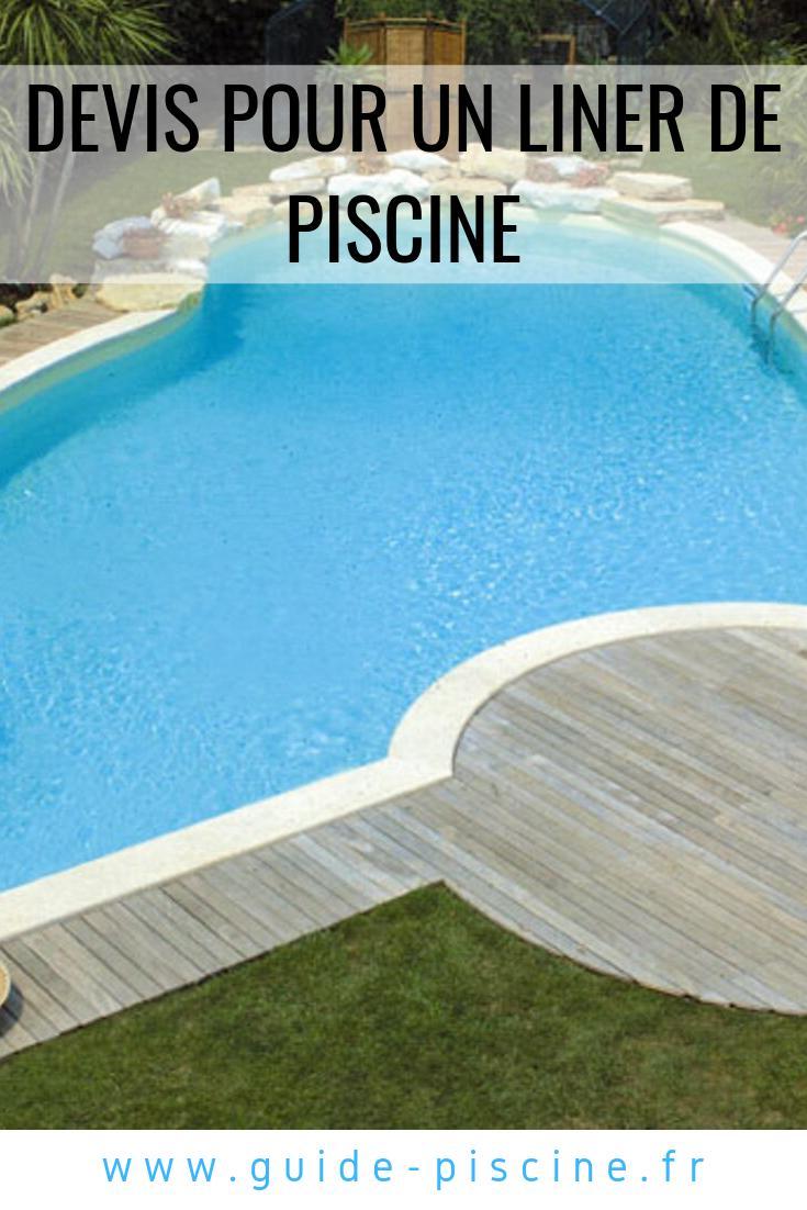 Devis Pour Un Liner De Piscine | Liner Piscine, Piscine Et ... pour Liner Piscine Prix