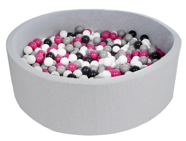 Diametre Env.125 Cm Couleurs Des Balles: Blanc, Bleu, Gris ... pour Piscine A Balle En Mousse