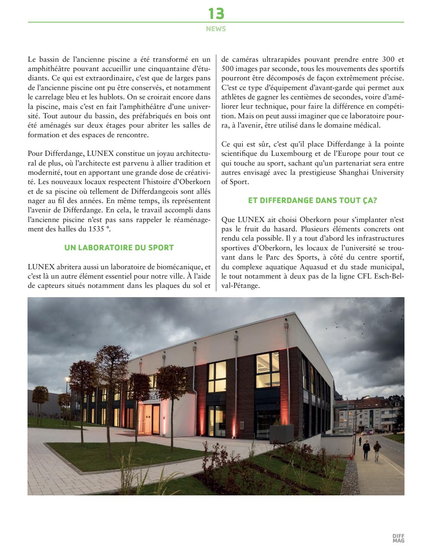 Diffmag °12 16 By Ville De Differdange - Issuu tout Piscine Oberkorn