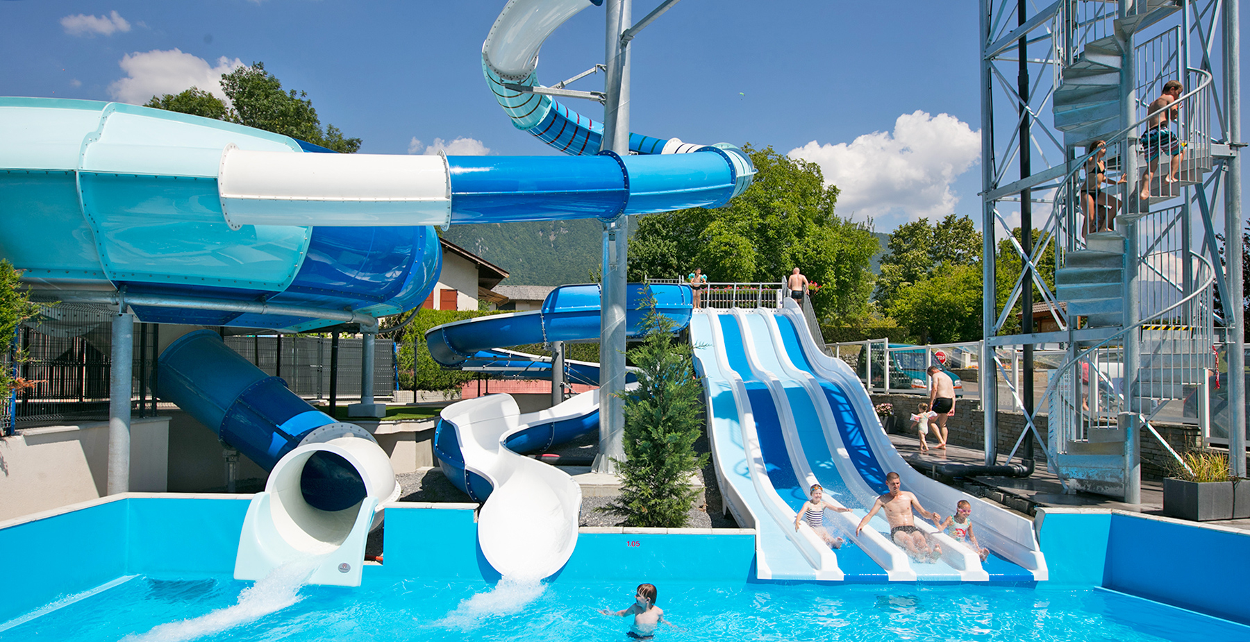 Discover The 4-Star Campsite Les Fontaines In Pictures concernant Camping Annecy Piscine