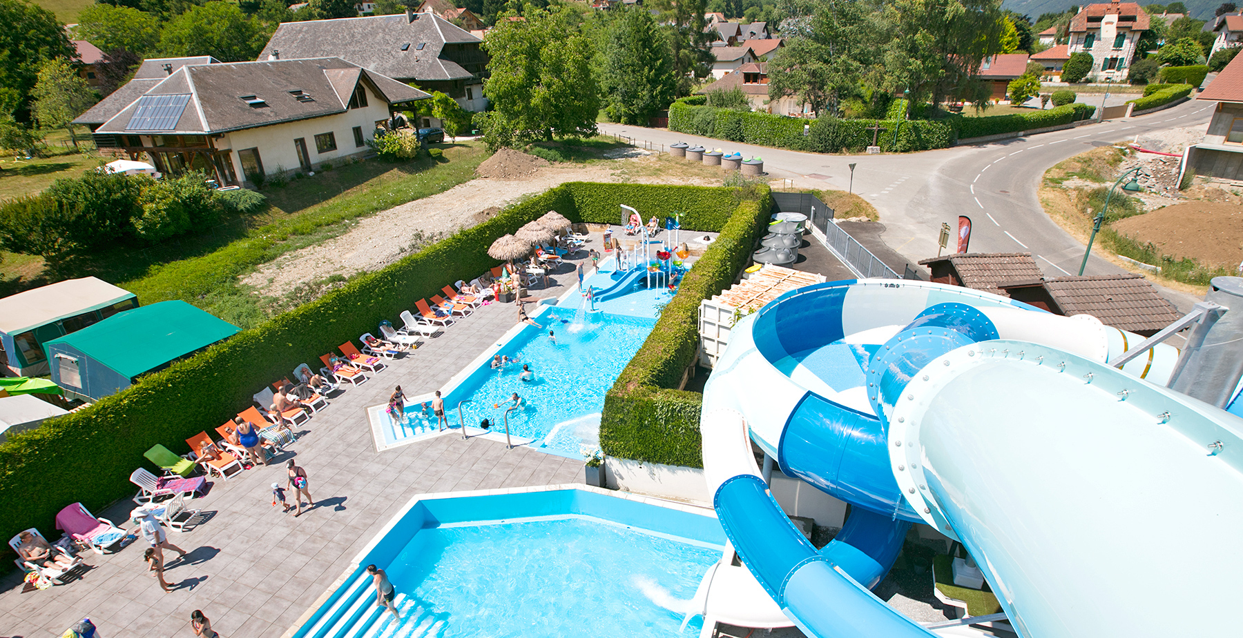 Discover The 4-Star Campsite Les Fontaines In Pictures pour Camping Annecy Piscine