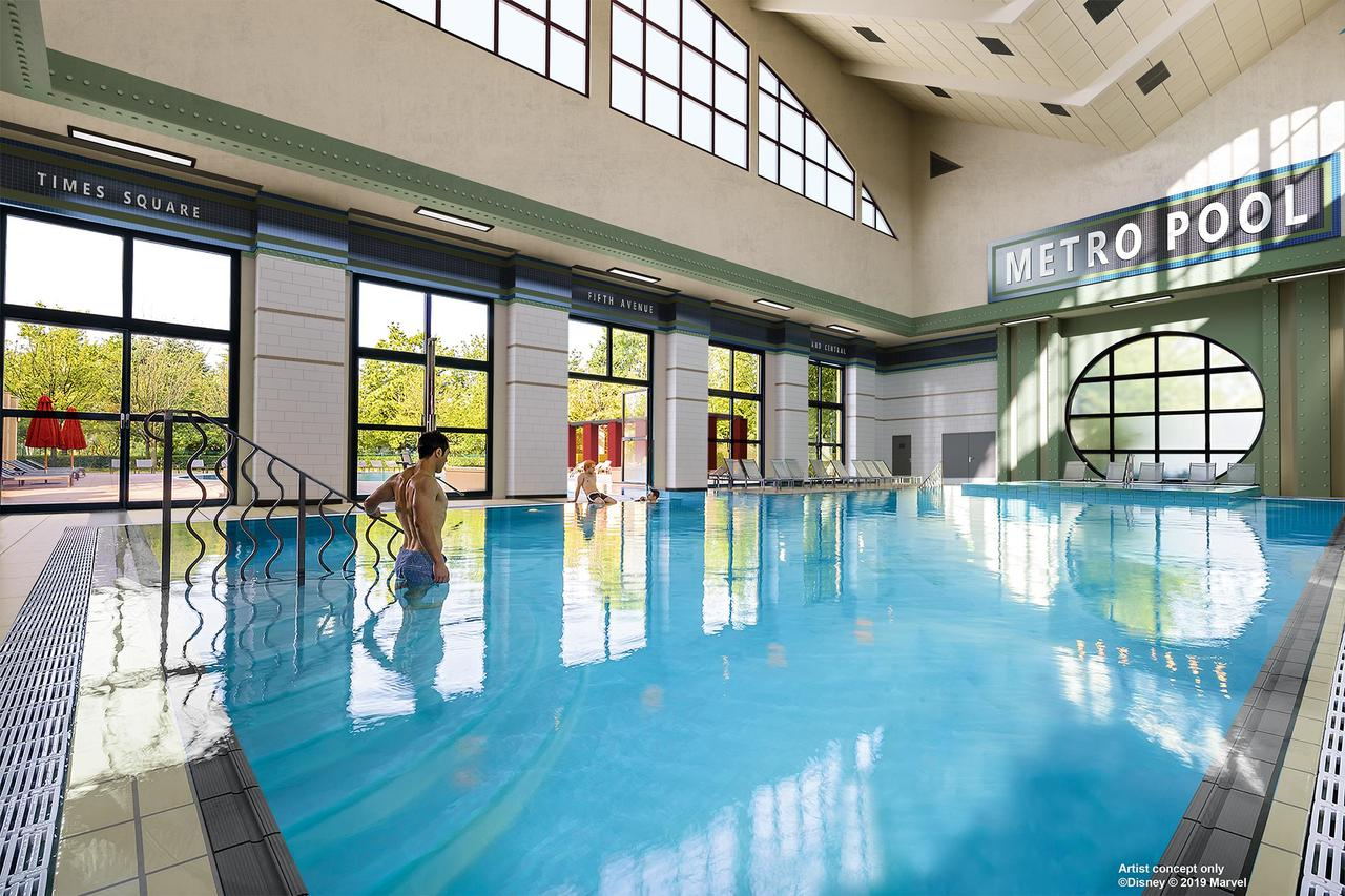 Disney's Hotel New York® (Fransa Chessy) - Booking encequiconcerne Piscine De Sevran
