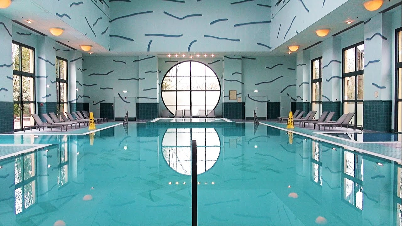 Disney's Hotel New York Pool Tour Disneyland Paris, Downtown Athletic Club  - La Piscine Du New York destiné Hotel Paris Piscine