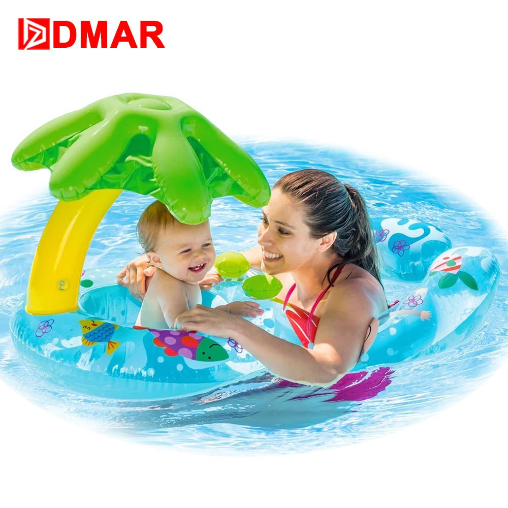 Dmar Gonflable Anneau De Natation Bébé Piscine Float Jouets ... dedans Piscine Intex Enfant