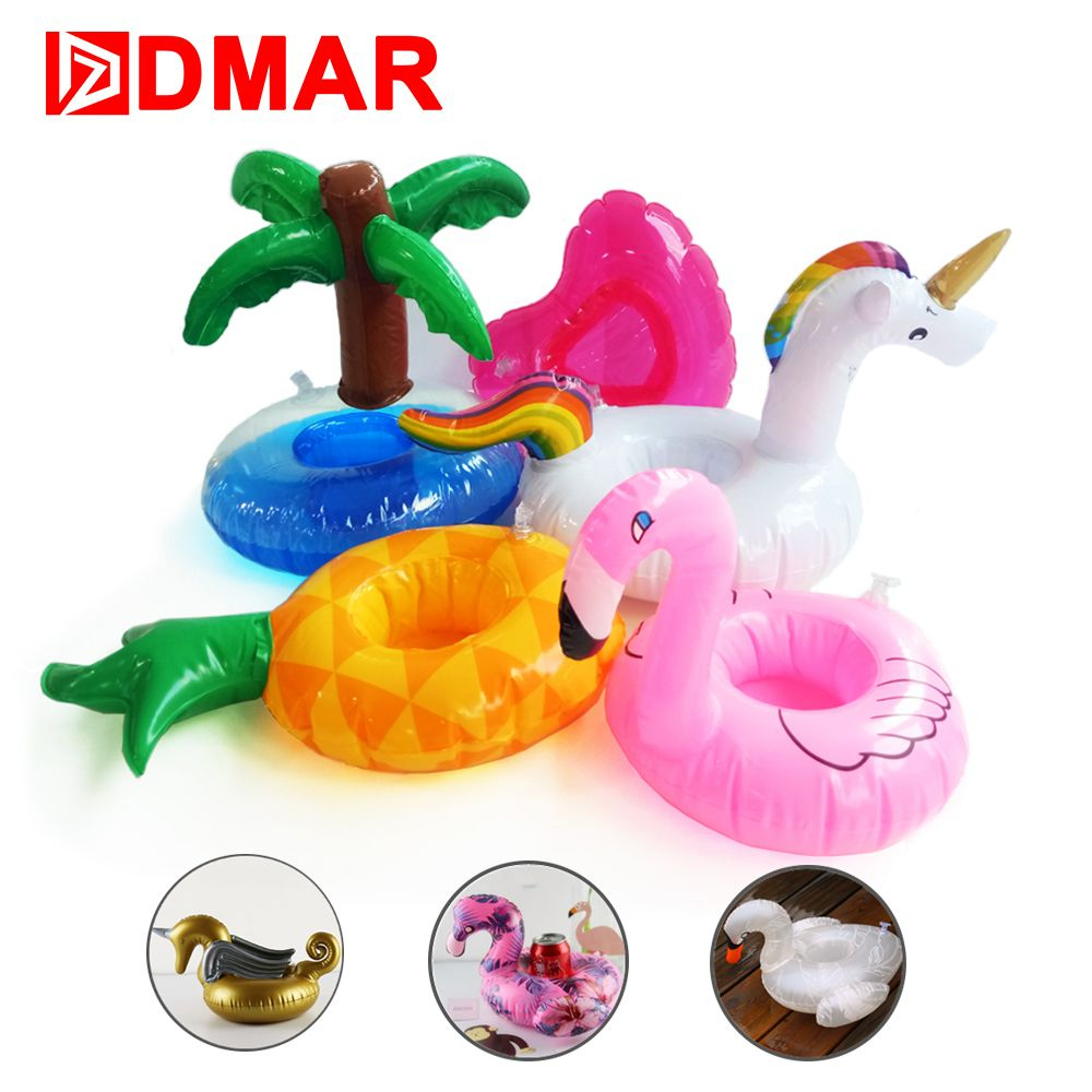 Dmar Mini Gonflable Flamingo Licorne Donut Piscine Float ... destiné Animaux Gonflable Pour Piscine