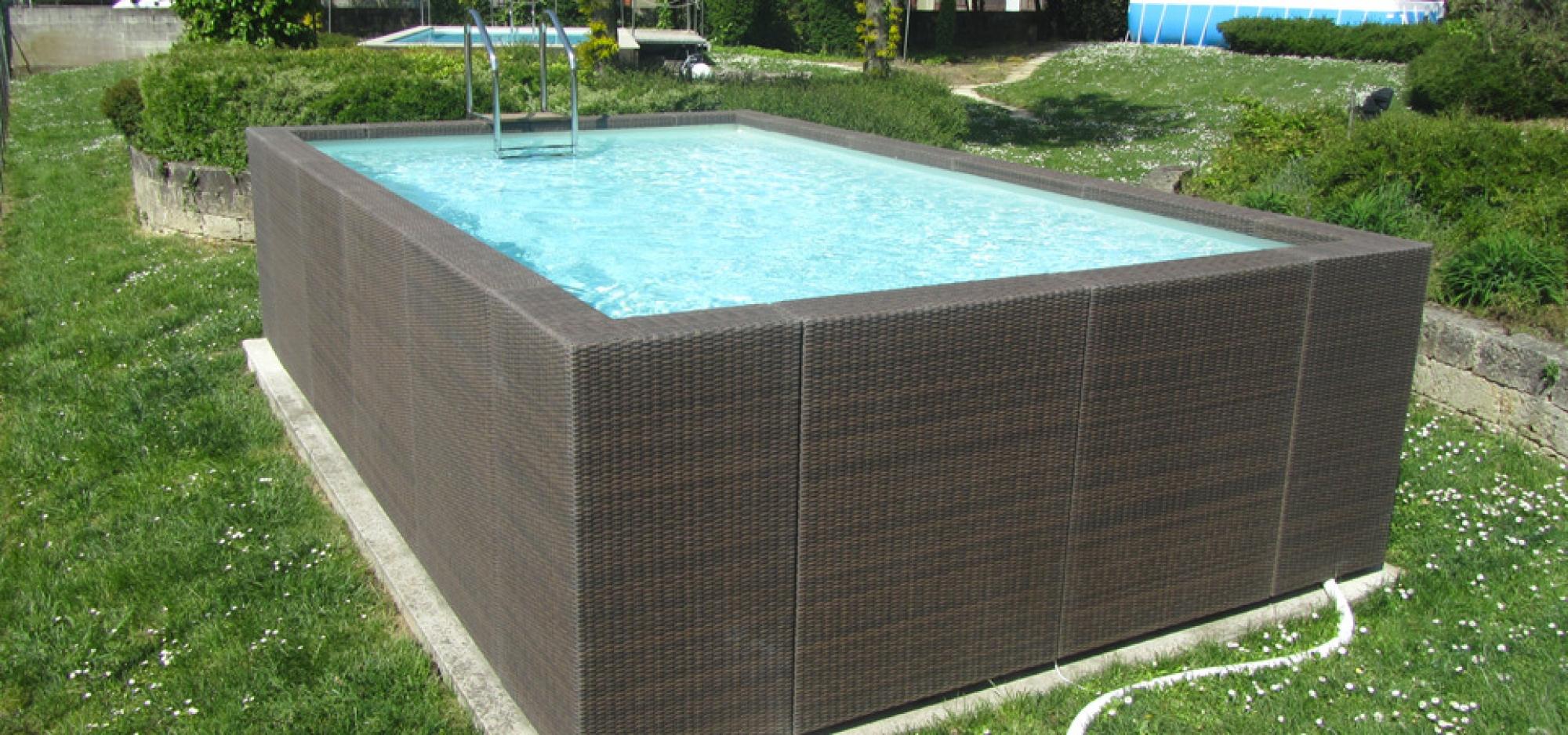 Dolce Vita Diva, Aquarev'piscines Choisit L'élégance Pour ... avec Piscine Hors Sol Composite