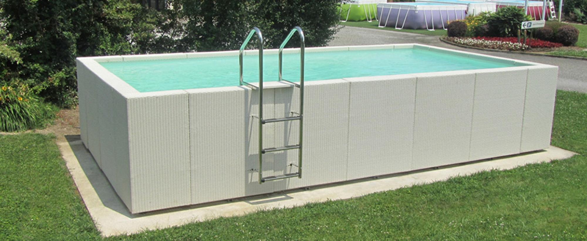 Dolce Vita Diva, Aquarev'piscines Choisit L'élégance Pour ... intérieur Mini Piscine Hors Sol