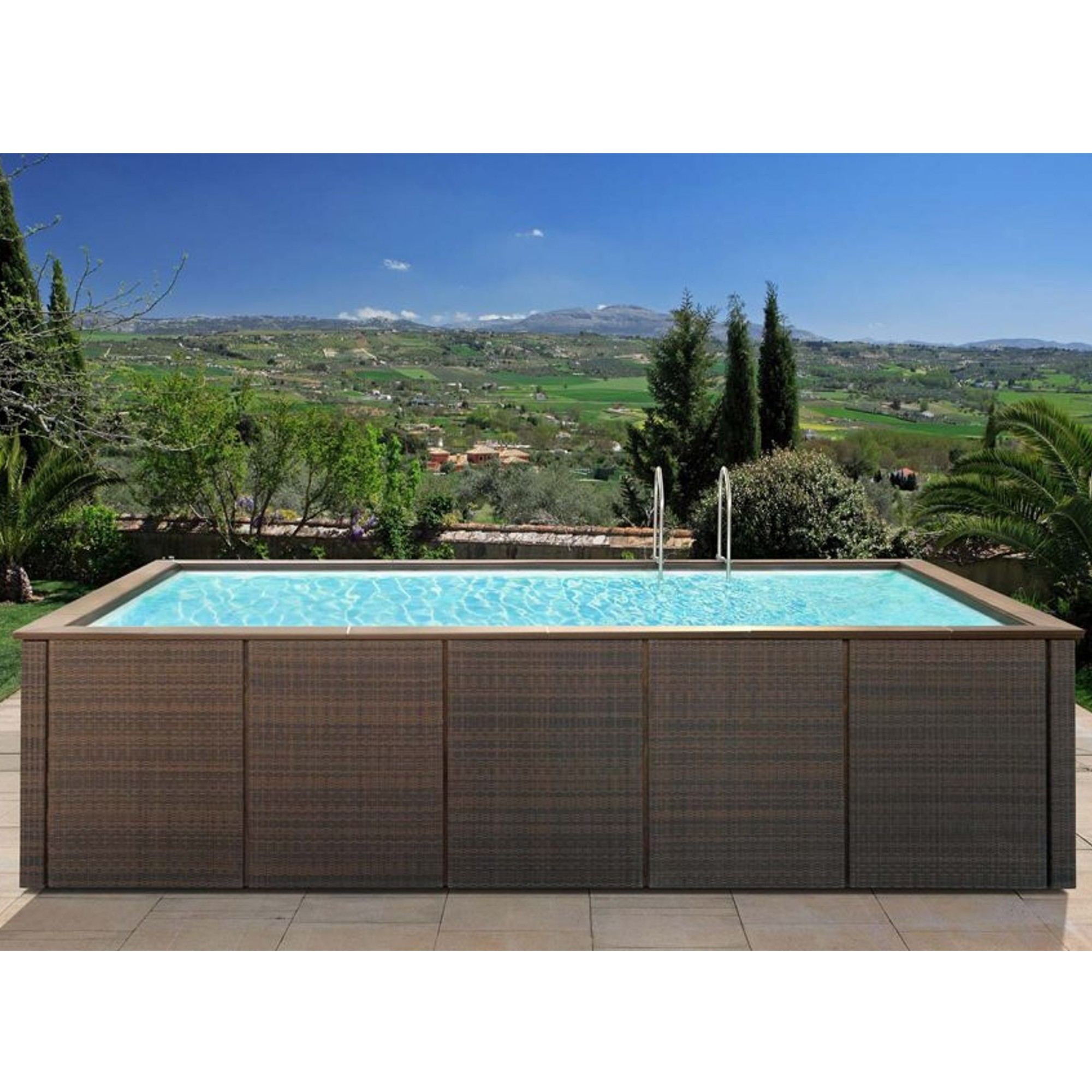 Dolcevita Rattan | Jacuzzi And Minipools | Wellness And Spa ... dedans Freedom Piscine