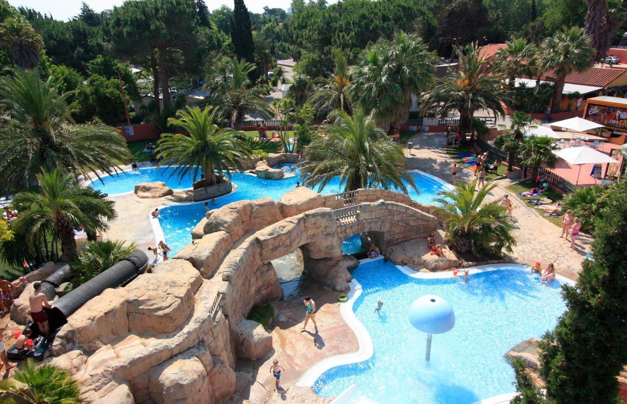 Domaine | Camping L'hippocampe | 5* Argelès Sur Mer concernant Camping Argeles Sur Mer Avec Piscine