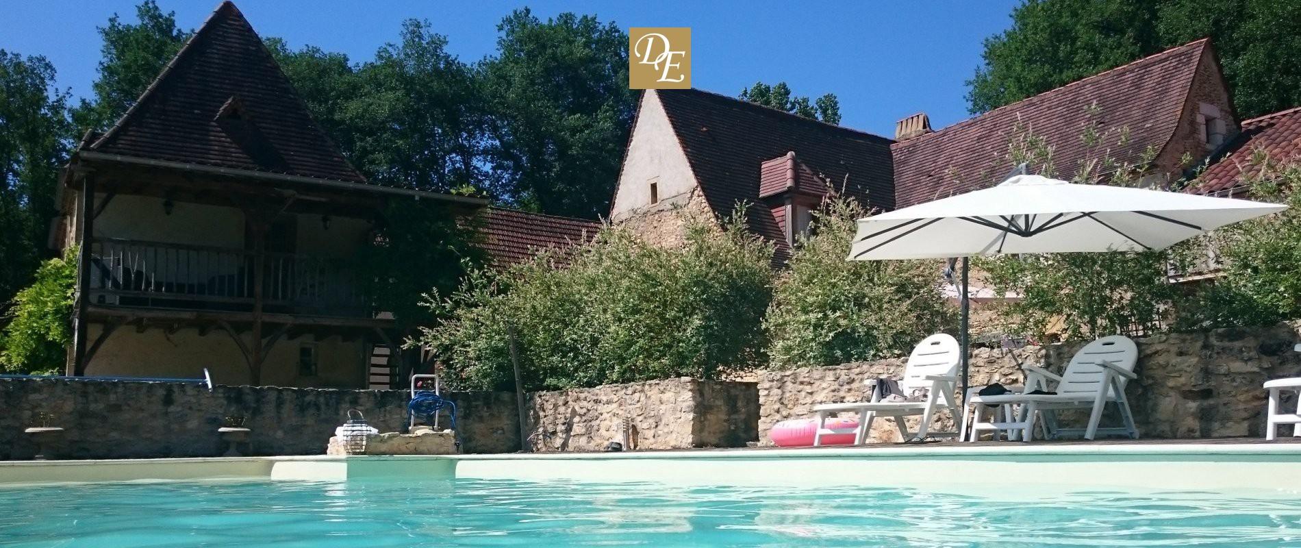Domaine Des Eymaries, Chambre D'hôte & Gites De Charme ... destiné Piscine De La Riche