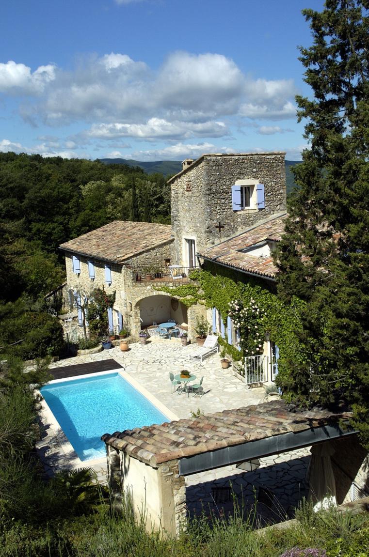 Domaine Les Fougères, Location De Salles | La Drôme Tourisme pour Piscine Fougères
